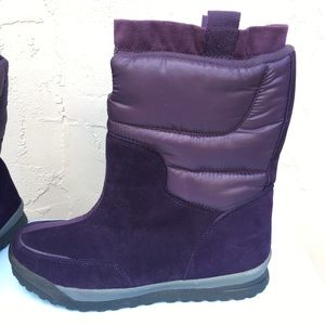 798474b64 Lands  End Shoes - Land s End Purple Snow Boot NWOB